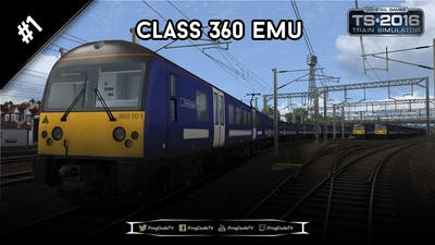 Heading Out   Class 360 EMU   1080p/60FPS   FrogDudeTV