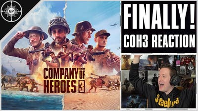 Company of Heroes 3 TRAILER / GAMEPLAY REACTION