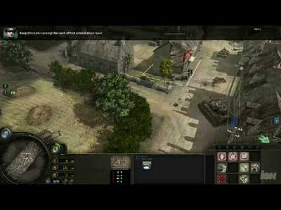 Company of Heroes: Tiger Ace Campaign Gameplay