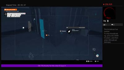SAWRO_664's beating watchdogs 2 with out dying or going down game play