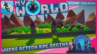 Myworld: Timelapse and Quest! 01 -KingChris