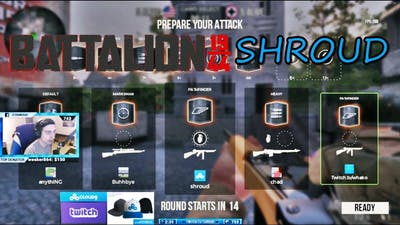 Shroud : BATTALION 1944 ( with game settings )