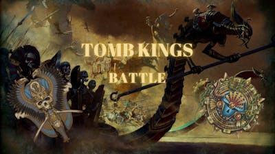 Tomb Kings vs Last Defenders Battle - Total War Warhammer II