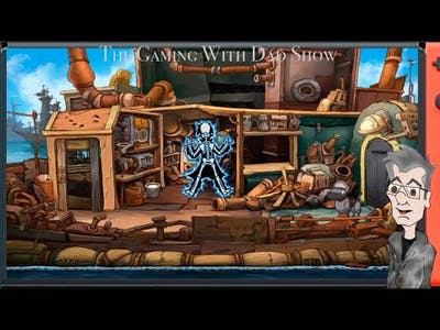 Dad plays with a glowing stick | Chaos on Deponia | TGWDS
