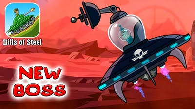 New BOSS OVERLORD in Hills Of Steel update of the game about tanks on Android walkthrough #1