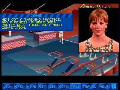 Tex Murphy: Martian Memorandum - 07 - Jane Mansfield