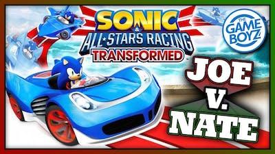 GOTTA GO SLOWER THAN I CAN RUN!!!  Sonic All Stars Racing Transformed | JOE V. NATE