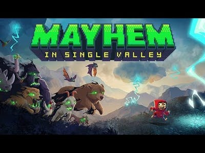 Mayhem in Single Valley - First Look Gameplay / (PC)