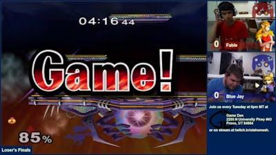 [2016-10-25] Smash Den Weekly - SSBM - LF - Fable vs Blue Jay
