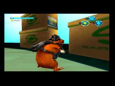 Disney's G-Force PS2 Gameplay