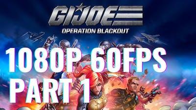 G.I. Joe: Operation Blackout Gameplay - Part 1