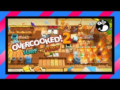 [7] Mind Bellown - Overcooked! 2 (3P) - Surf 'n Turf DLC | Family Game Night