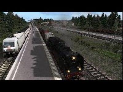 128 Train Simulator steam locomotive BR 24