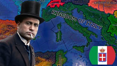 The Italian Empire (Mussolini's Dream) - Hearts of Iron 4 Gameplay Time Lapse