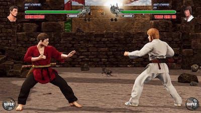 Shaolin vs Wutang 2 : Van Dam vs Chuck Norris (Hardest CPU)