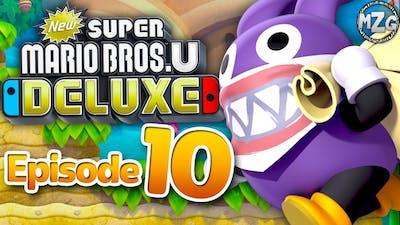 New Super Mario Bros. U Deluxe Gameplay Walkthrough - Episode 10 - Bonus! Nabbit Chases!