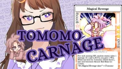 The raw SMUG energy of Sweet Eater Tomomo [100% Orange Juice]