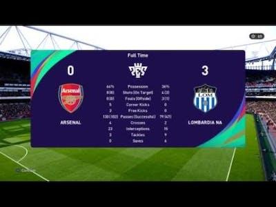 eFootball PES 2021 SEASON UPDATE inter  VS   arsenal