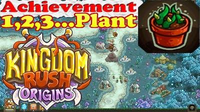 Kingdom Rush Origins - Achievement 1,2,3...Plant! - Grow 100 barbed vines