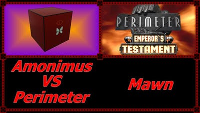 Amonimus VS Perimeter (Mawn)