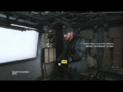 METAL GEAR SOLID V: THE DEFINITIVE EXPERIENCE QUITE ARRIVE AT MOTHER BASE