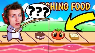 The Most AWKWARD Game EVER?! These Jokes Are TRASH! (Fishing Food)