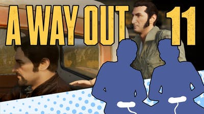 A Way Out - PART 11 - This Game Is Insanity - Let's Game It Out