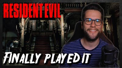 I Finally Played The First Resident Evil. (HD Remaster)