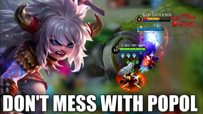 STRONG FARM, CRAZY DAMAGE, YOUR NEXT HERO POPOL & KUPA GAMEPLAY- MOBILE LEGENDS