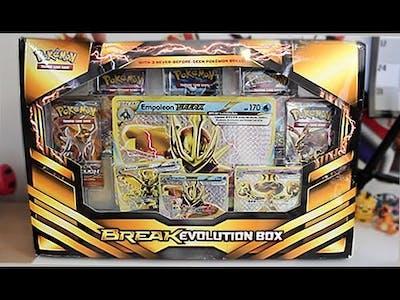 Opening A Pokemon BREAK Evolution Box!!