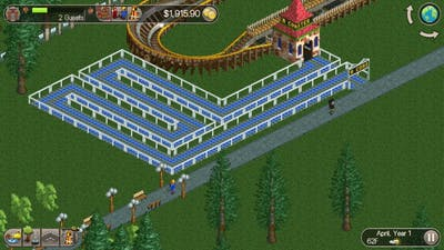 Rollercoaster Tycoon Classic Gameplay