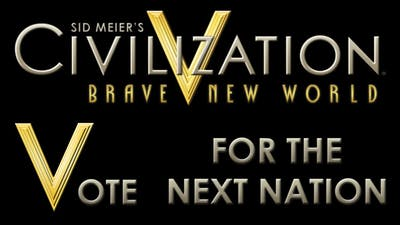Civilization V - #1 Vote for the next Nation | Victory Condition | Map Type
