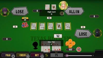 Poker Pretty Girls Battle: Texas Hold'em Trophy Guide Gameplay