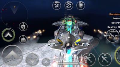F35A Lightning II in episode 23 mission 9 | gunship battle 2021