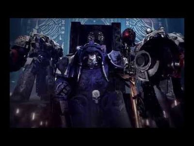 SPACE HULK Deathwing HD - All cinematics and visions