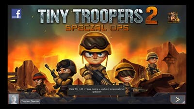 tiny troopers 2 game play  (2 capitulo)
