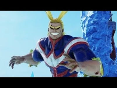 My first dlc character | jump force all might gameplay