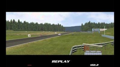 GTR2 FIA GT Racing Game   Le Mans Mod   Audi E-Tron Quattro Practice Driving