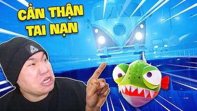 Chú Cá Piranha Gây Ra Tai Nạn Kinh Hoàng - I Am Fish 8 | Buron Game