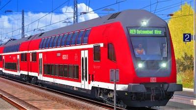 INSELBAHN Rügen: Stralsund - Sassnitz | TRAIN SIMULATOR 2019 | BR 143 + RE nach Ostseebad Binz
