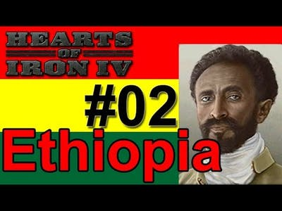 Hearts of Iron IV - Ethiopia - How Long Can I Hold out? #02