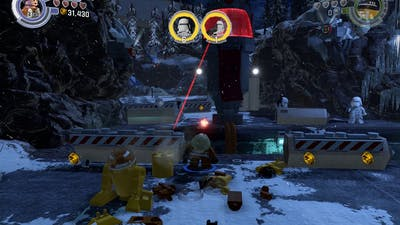 LEGO STAR WARS The Force Awakens PC Playthrough Part 14 : Starkiller Base Escape