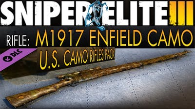 RIFLE:1917 ENFIELD (tuned & camouflage) Gameplay,S.E.III