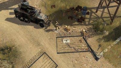 Men of War - German campaign walkthrough - Mission 3 - Desert Stronghold 8/8