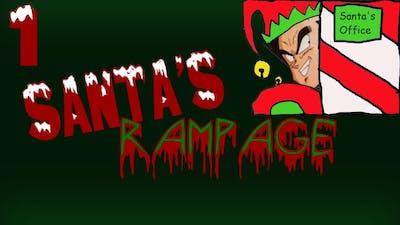 Vegeta Plays Viscera Cleanup Detail Santa's Rampage Part 1