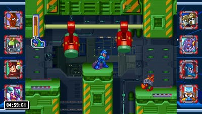 Mega Man Legacy Collection 2 challenges