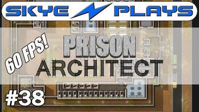 Prison Architect [60 FPS] #38 ►H Block Maximum Security!◀ Gameplay/Tutorial (Alpha 35)