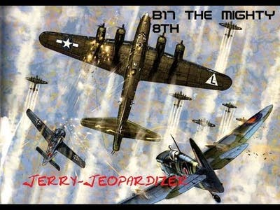 B17 the mighty 8th career, Jerry Jeopardizer, Mission #2