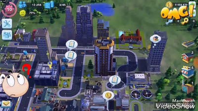 SIMCITY GAME-EXPAND ALL AREA IN ONE SECOND