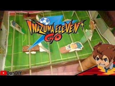 DIY Soccer Field Board Game // Inazuma Eleven Go   Dan DIY
